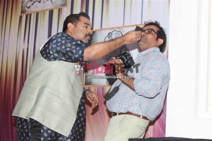 Shankar Mahadevan Celebrates His Birthday On The Sets Of Rising Stars Photos