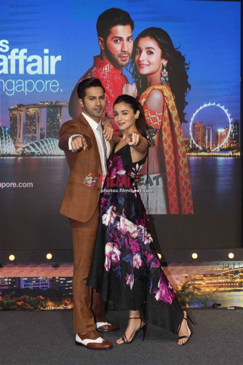 Singapore Tourism Hosts PC With Badrinath Ki Dulhania Photos