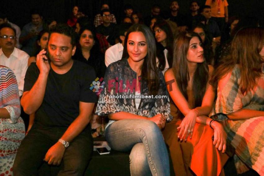 Sonakshi Sinha, Neha Sharma, Tamannah Bhatia, Kajal Agarwal At LFW 2017