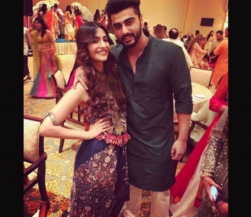 Sonam, Arjun Kapoor At Cousin's Wedding In Abu Dhabi Photos