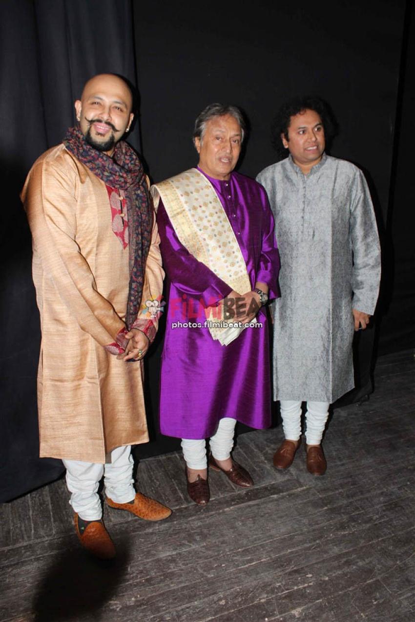 Ustad Amjad Ali Khan's Star-Studded Concert Photos
