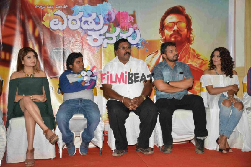 Eradu Kanasu Press Meet Photos