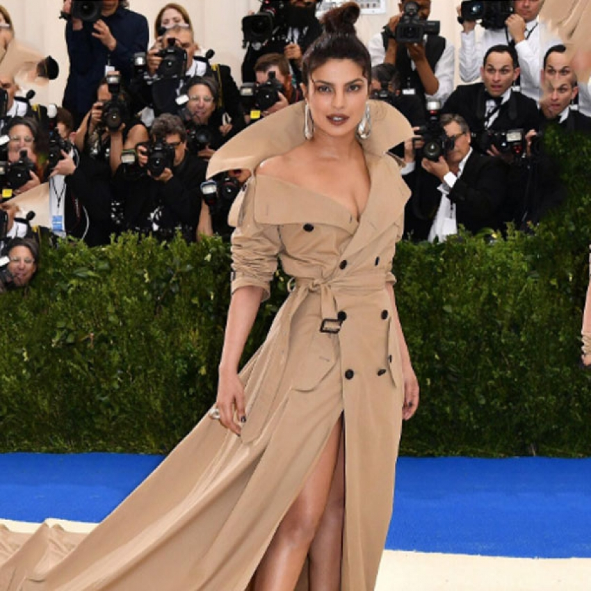 Priyanka Chopra At MET Gala 2017 Photos
