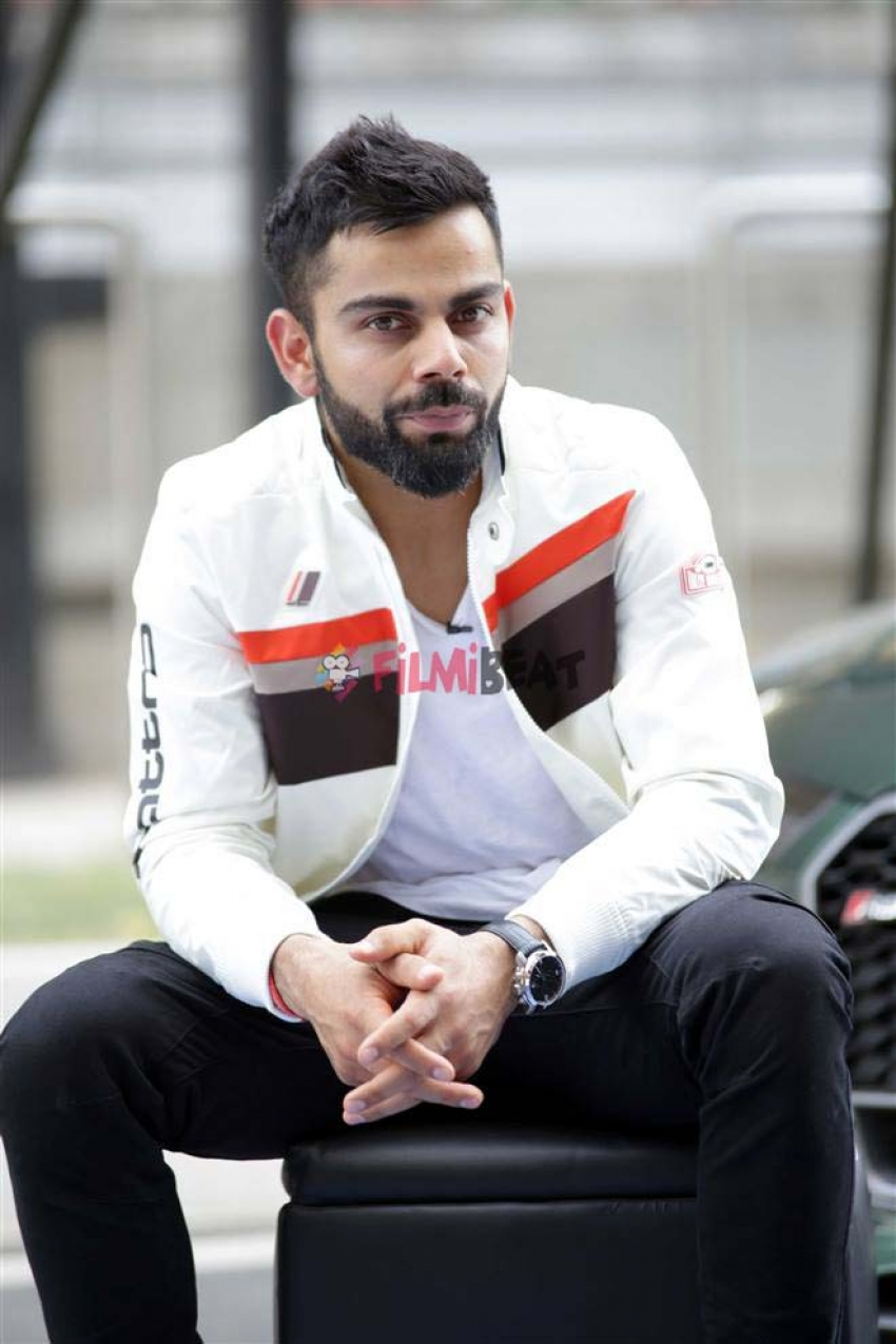 virat kohli spotted spending quality time with his cars in new delhi 149457794790