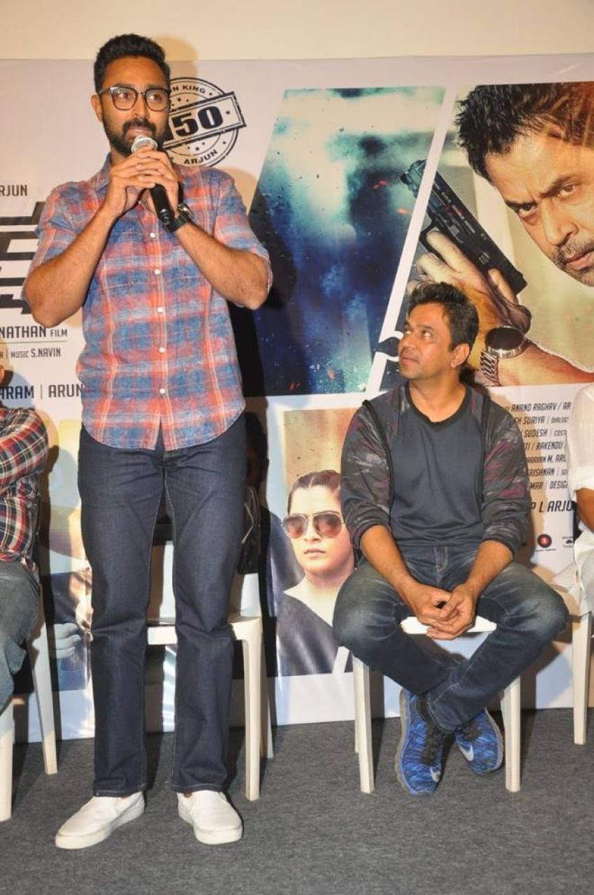 Kurukshetram Teaser Launch Photos