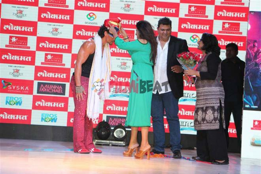 Munna Michael Movie Promotions In Pune Photos