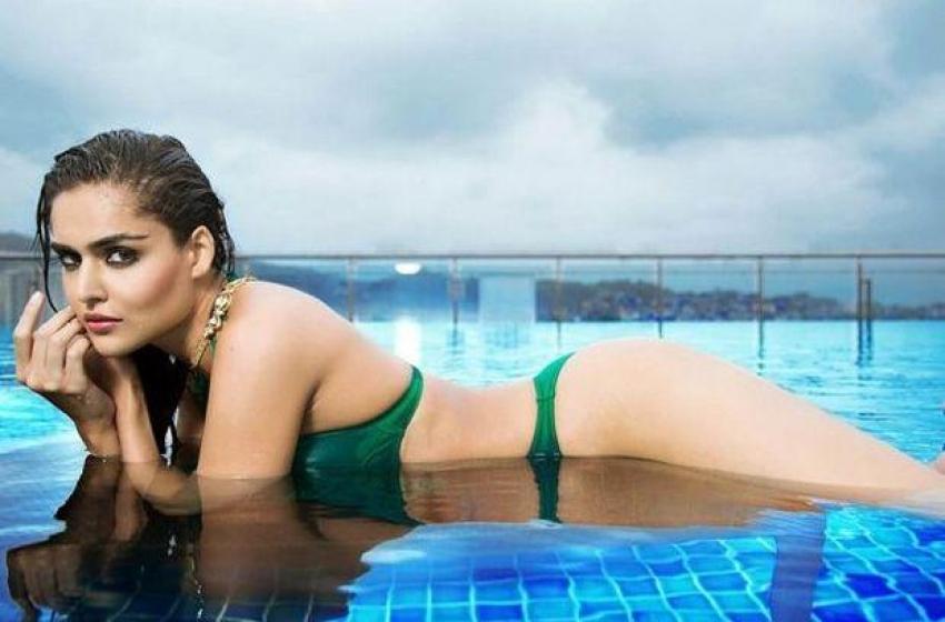 Nathalia Kaur Sizzling Bikini Photos