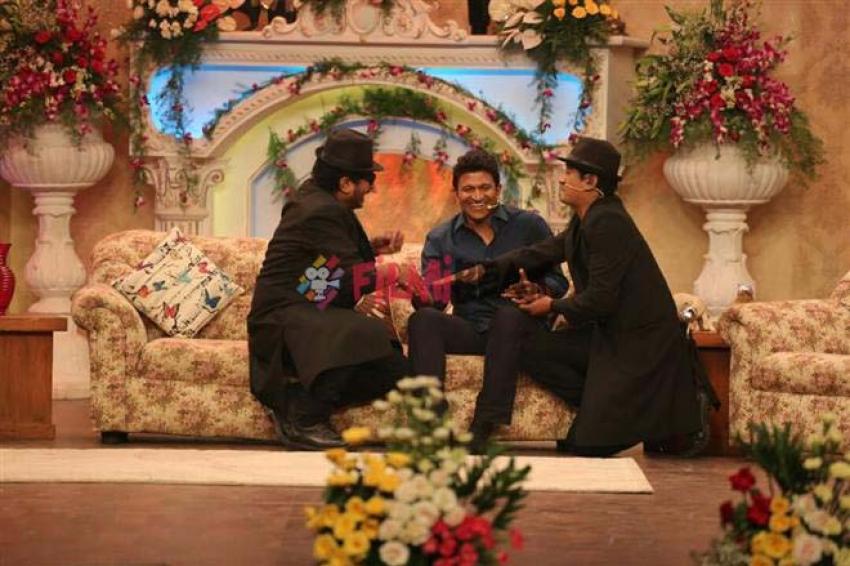 Puneeth Rajkumar In Maja Talkies Show Photos
