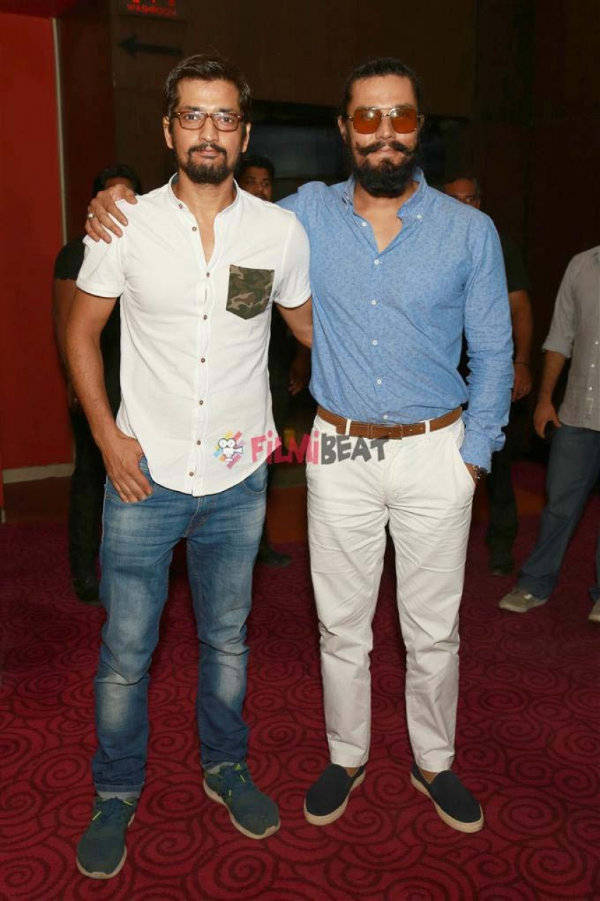 Randeep Hooda And Kuldeep Ruhil At Promotion Of Cheer Haran Photos