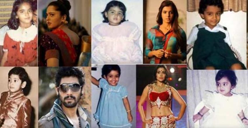 South Indian Actors Childhood Photos