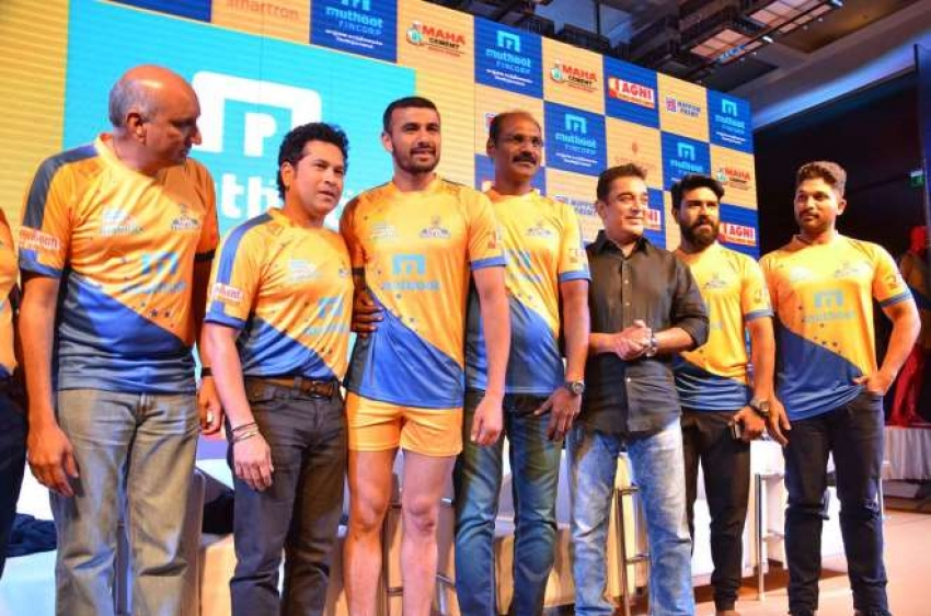 Tamil Thalaivas Jersey Launch Photos