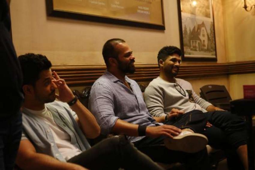Allu Arjun with Golmal Team in Mumbai Photos