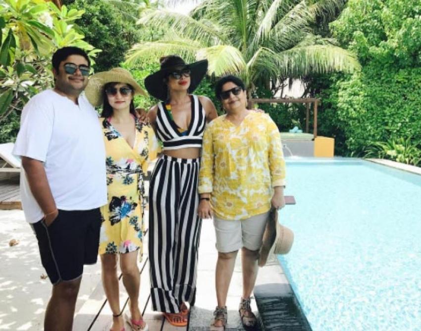 Priyanka Chopra Birthday Vacation Photos