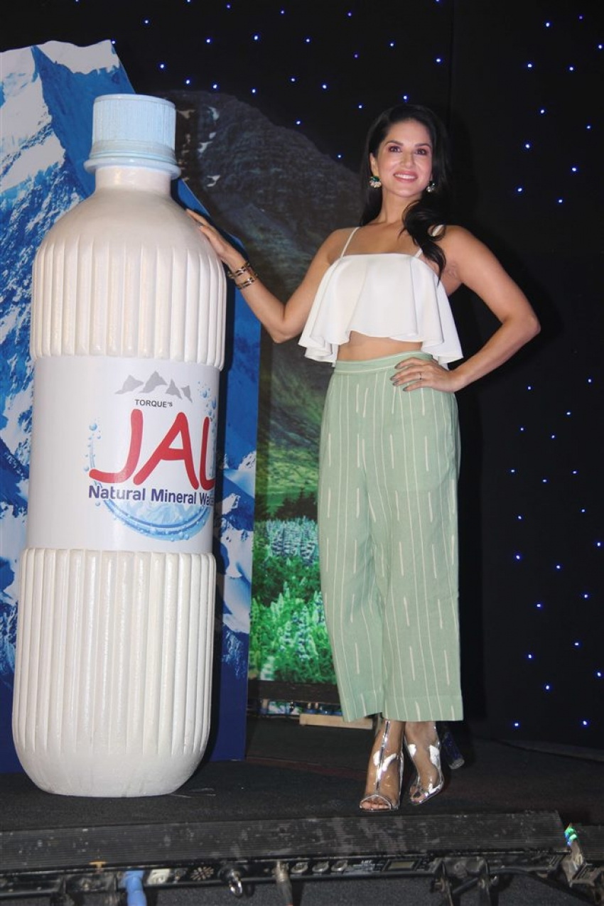 Sunny Leone Launch New Product Jal from Torque Pharma Photos