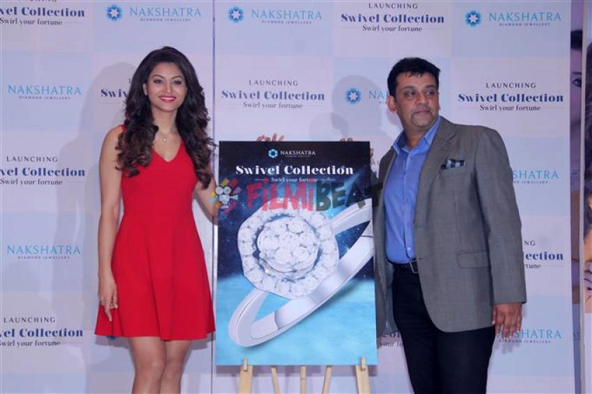 Urvashi Rautela Unveil The Swivel Collection Of Nakshatra Diamond Jewellery Photos