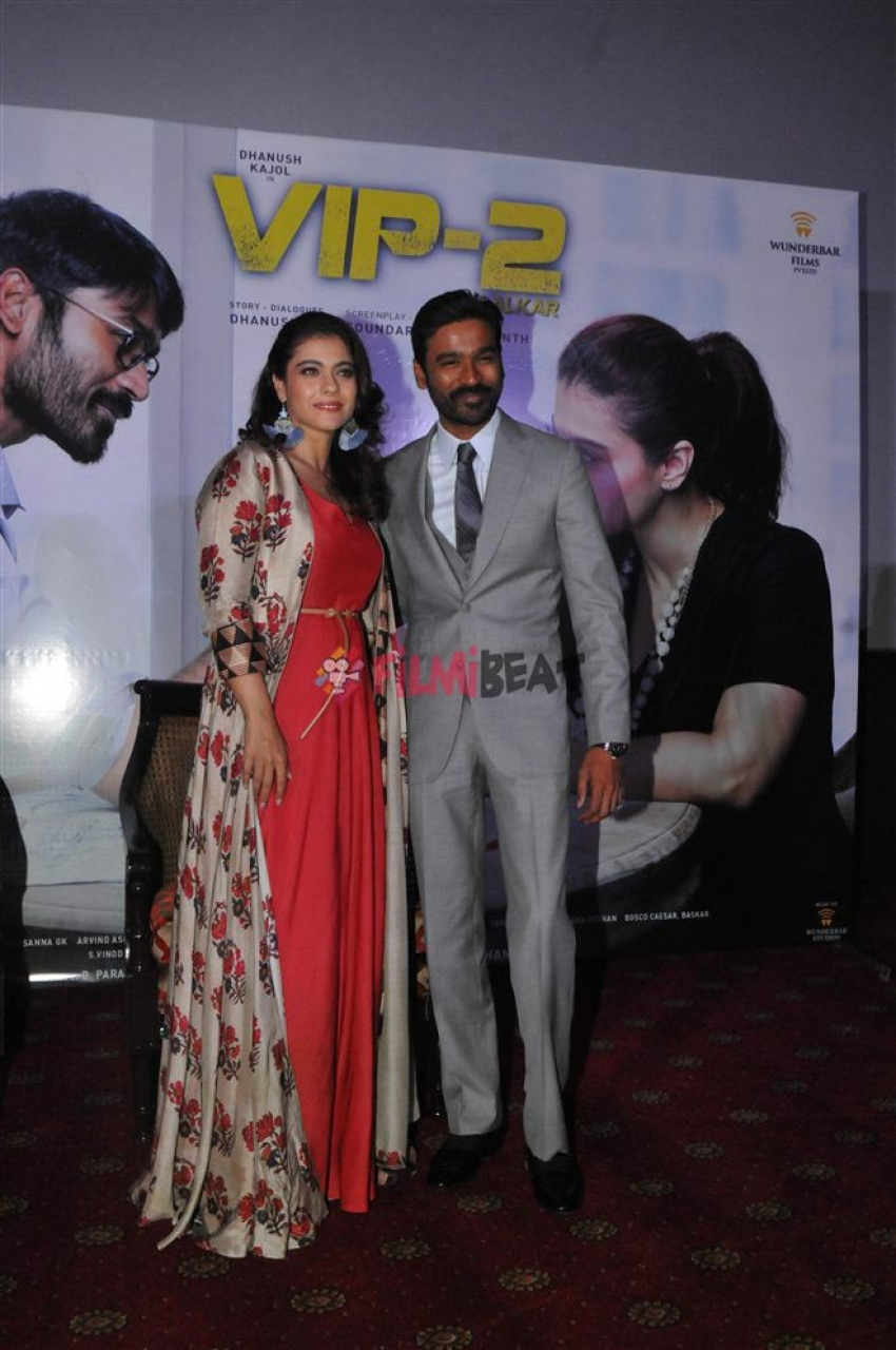 VIP 2 Movie Promotion In New Delhi Photos