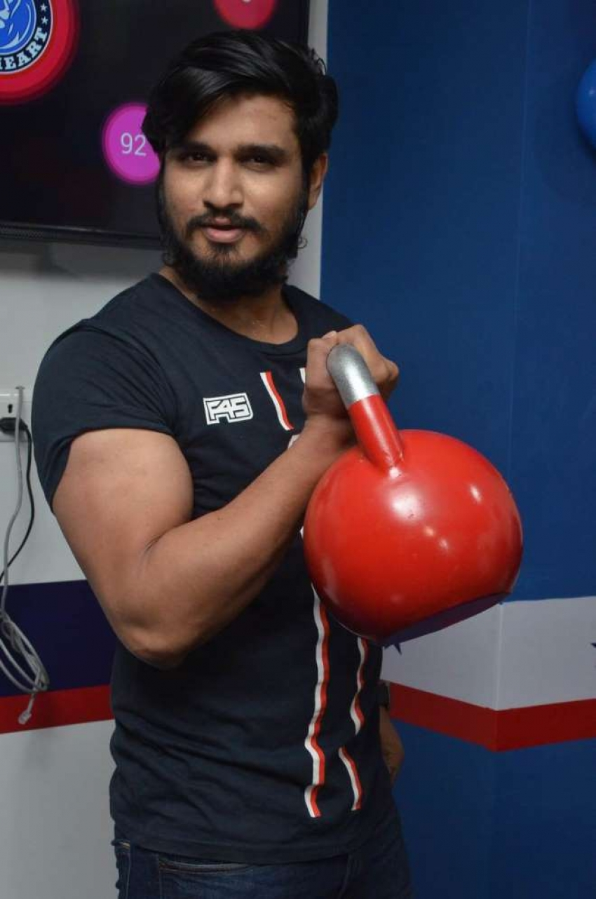 Nikhil Launches F45 Fitness Centre at Begumpet Photos