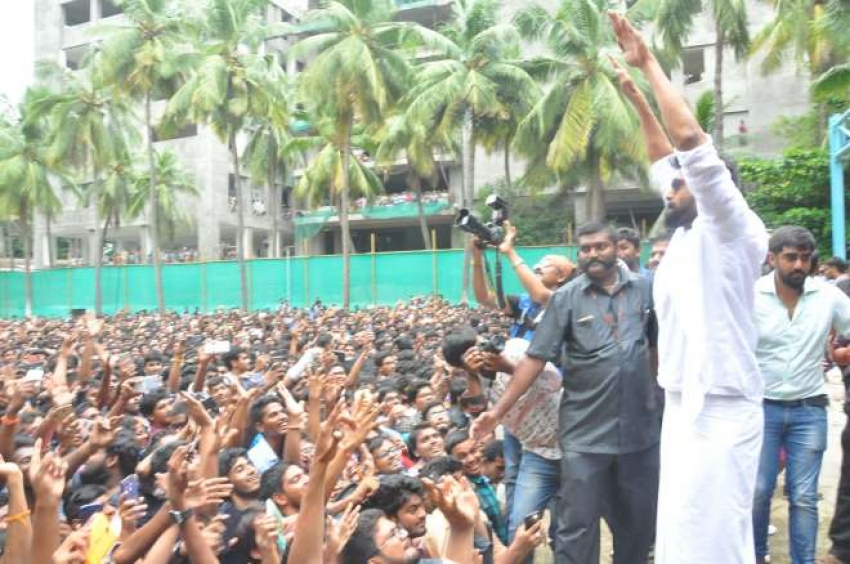 Nene Raju Nene Mantri team at K L University Photos