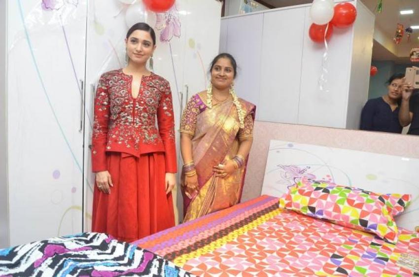 Tamannaah Launches Tirumala Furnitures at Nizampet Photos