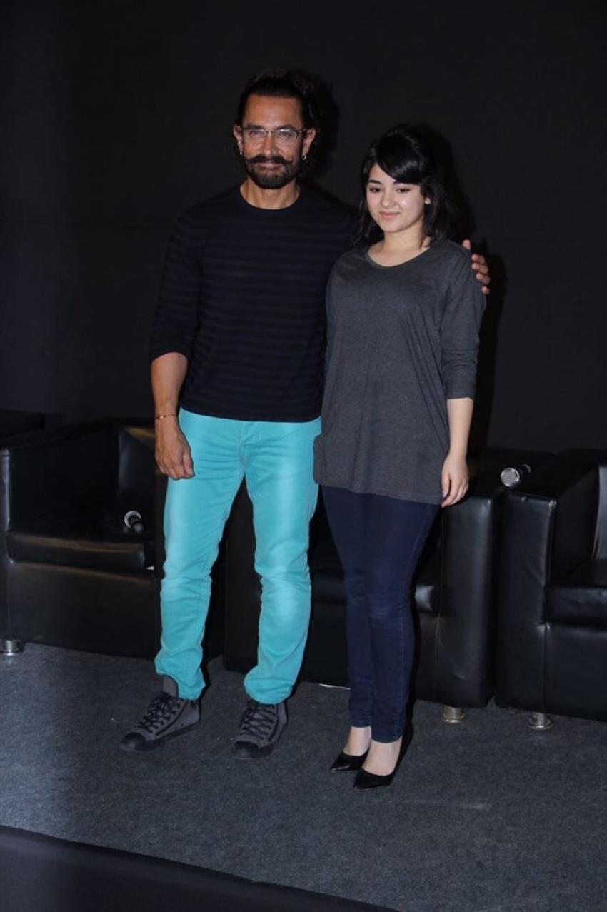 Aamir Khan Launch Secret Superstar Trailer Photos