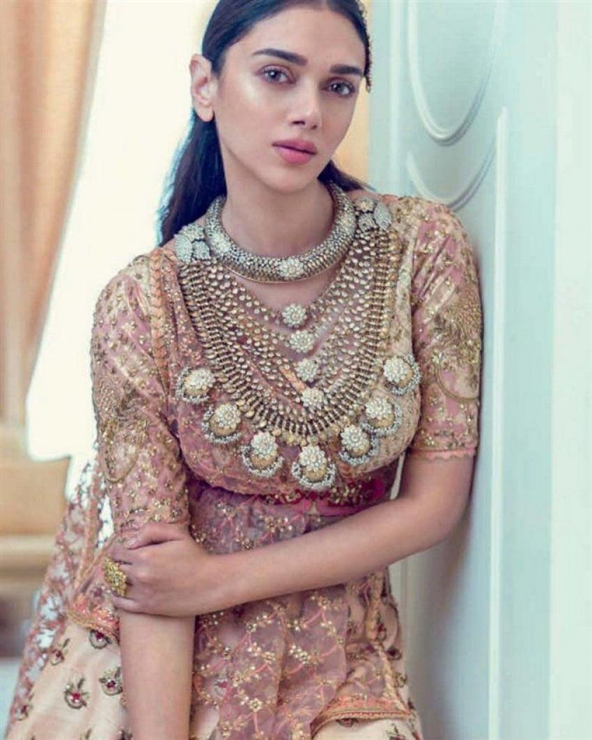 Aditi Rao Hydari Khush Wedding Photoshoot Photos