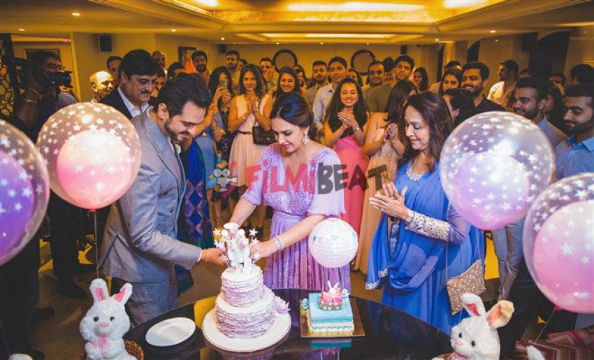 Ahana Deol 'Secret' Baby Shower plans for Mom-to-be Esha Deol Photos