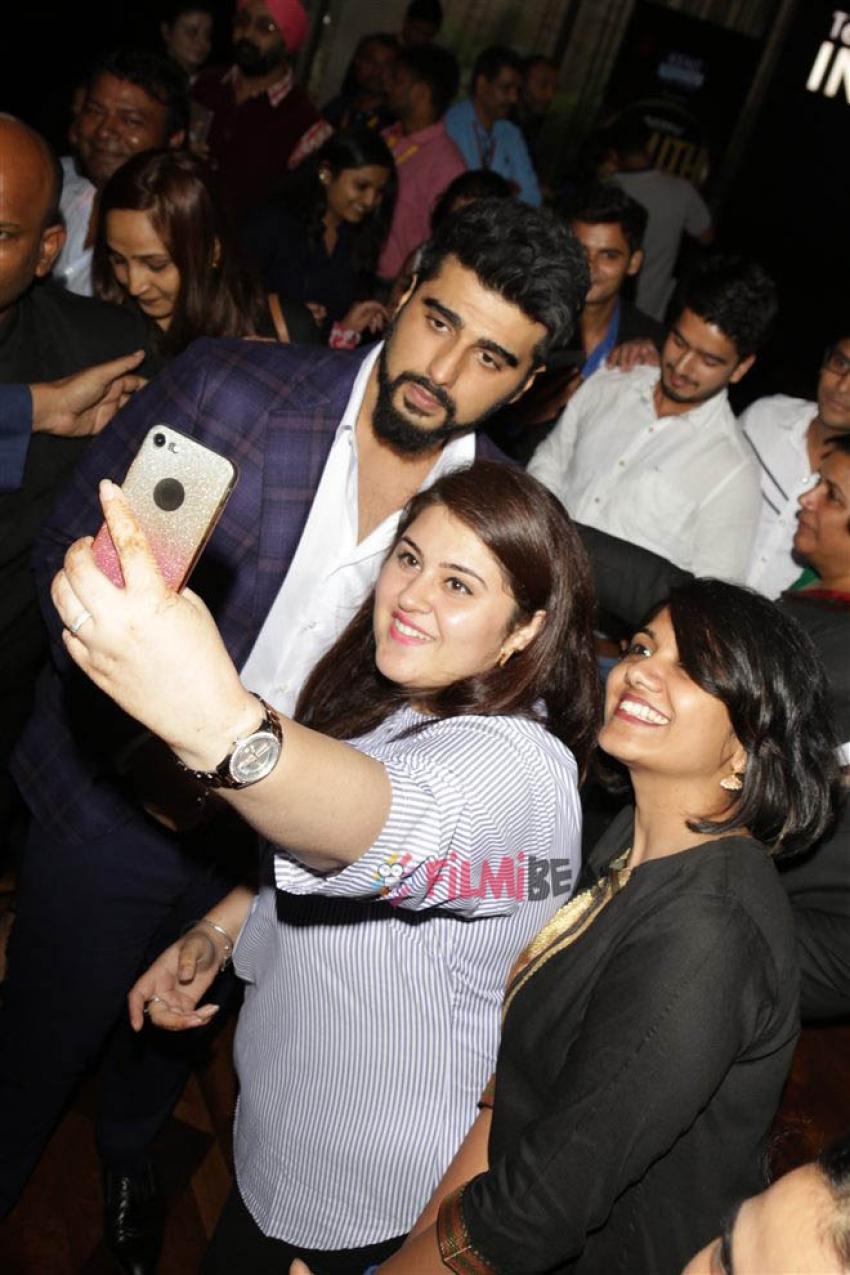 Arjun Kapoor At NDTV Youth For change In New Delhi Photos