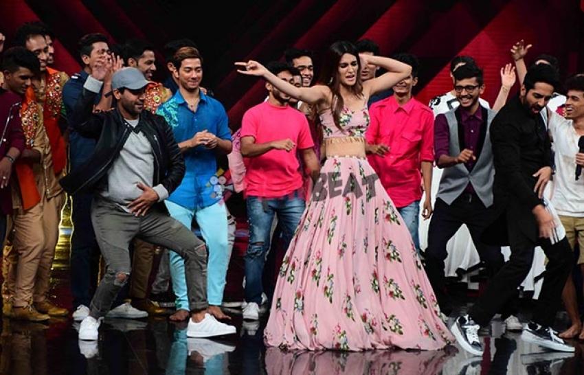 Bareilly Ki Barfi On The Sets Of Dance Plus 3