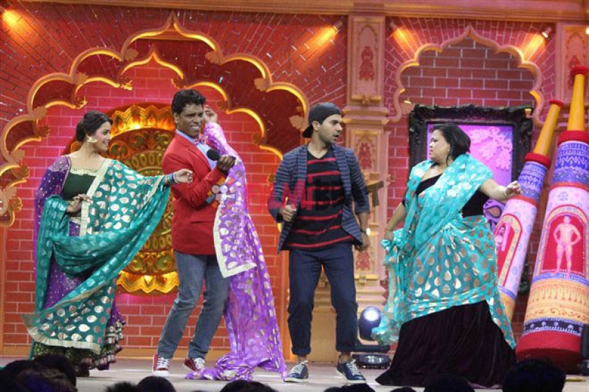 Barelliy Ki Barfi Movie Promotion On The Sets Of Comedy Dangal