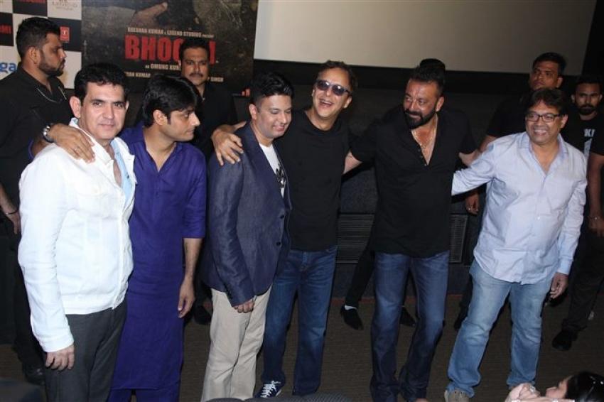 Bhoomi Trailer Launch At Fun Cinema Photos