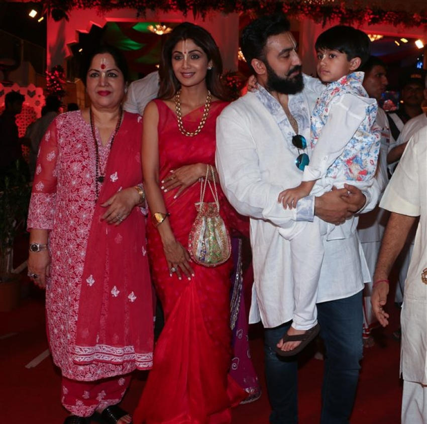 Celebs Spotted At ISKCON Temple In Mumbai Photos