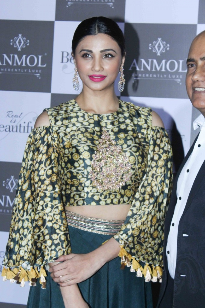 Daisy Shah At Anmol Jwellers New Collection Launch Photos