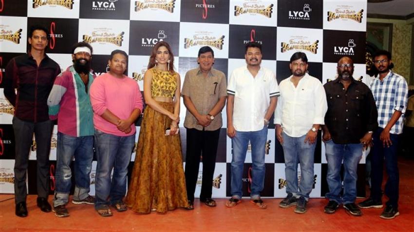 Imsai Arasan 24am Pulikecei Movie Pooja Photos