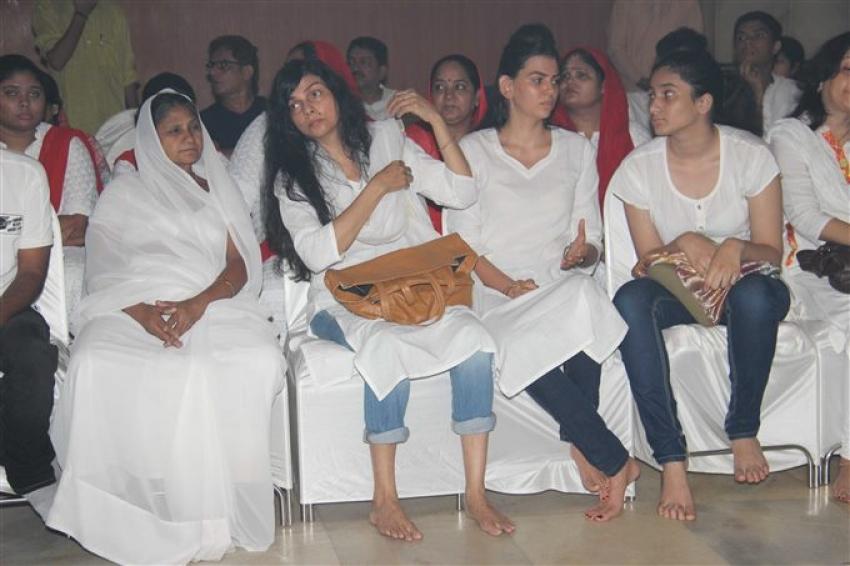 Inder Kumar Prayer Meet Photos