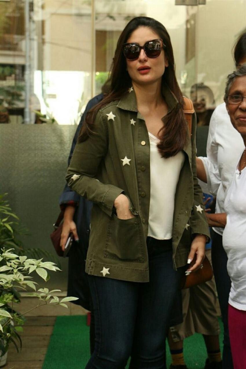 Kareena Kapoor Khan Spotted At Muah Salon Bandra Photos