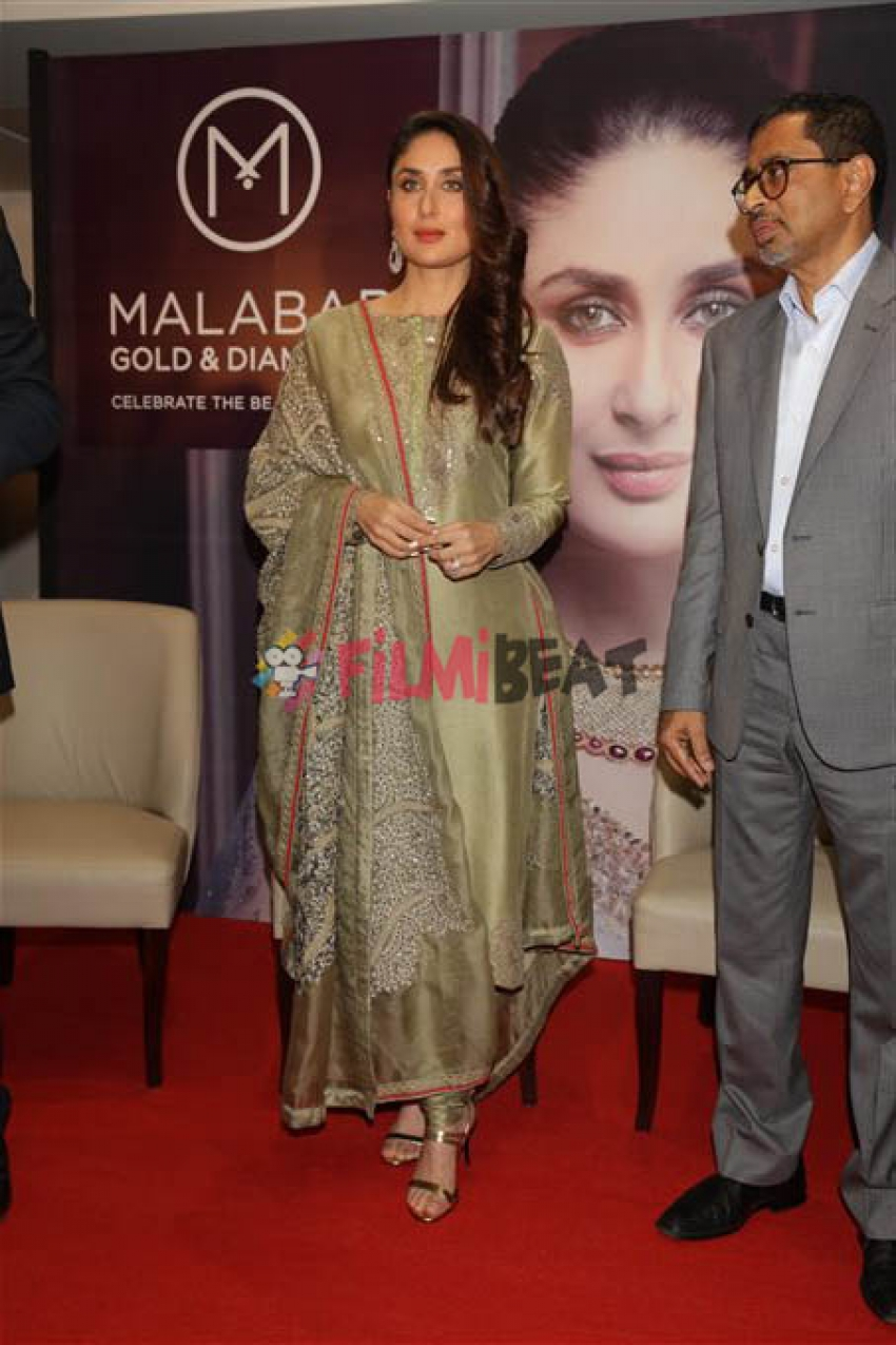 Kareena Kapoor At Launch Of Malabar Jewellery Store In New Delhi Photos