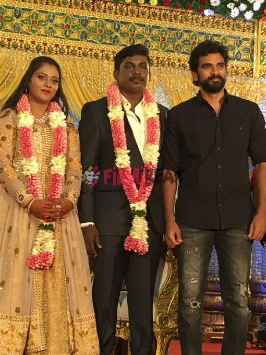 Metro Director Anandha Krishnan Marriage Reception Photos