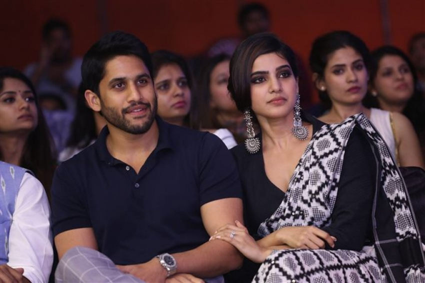 Naga Chaitanya , Samantha & Other Celebs At Woven Fashion Show Photos