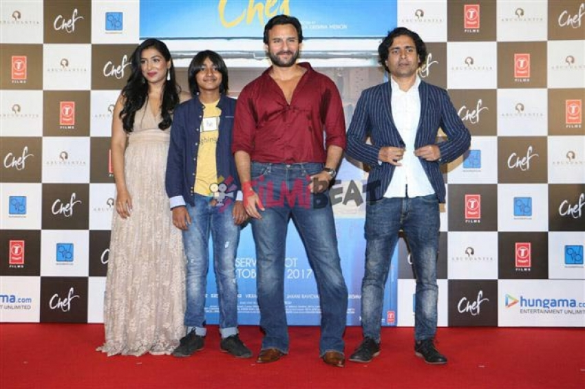 Saif Ali Khan's Chef Movie Trailer Launch Photos