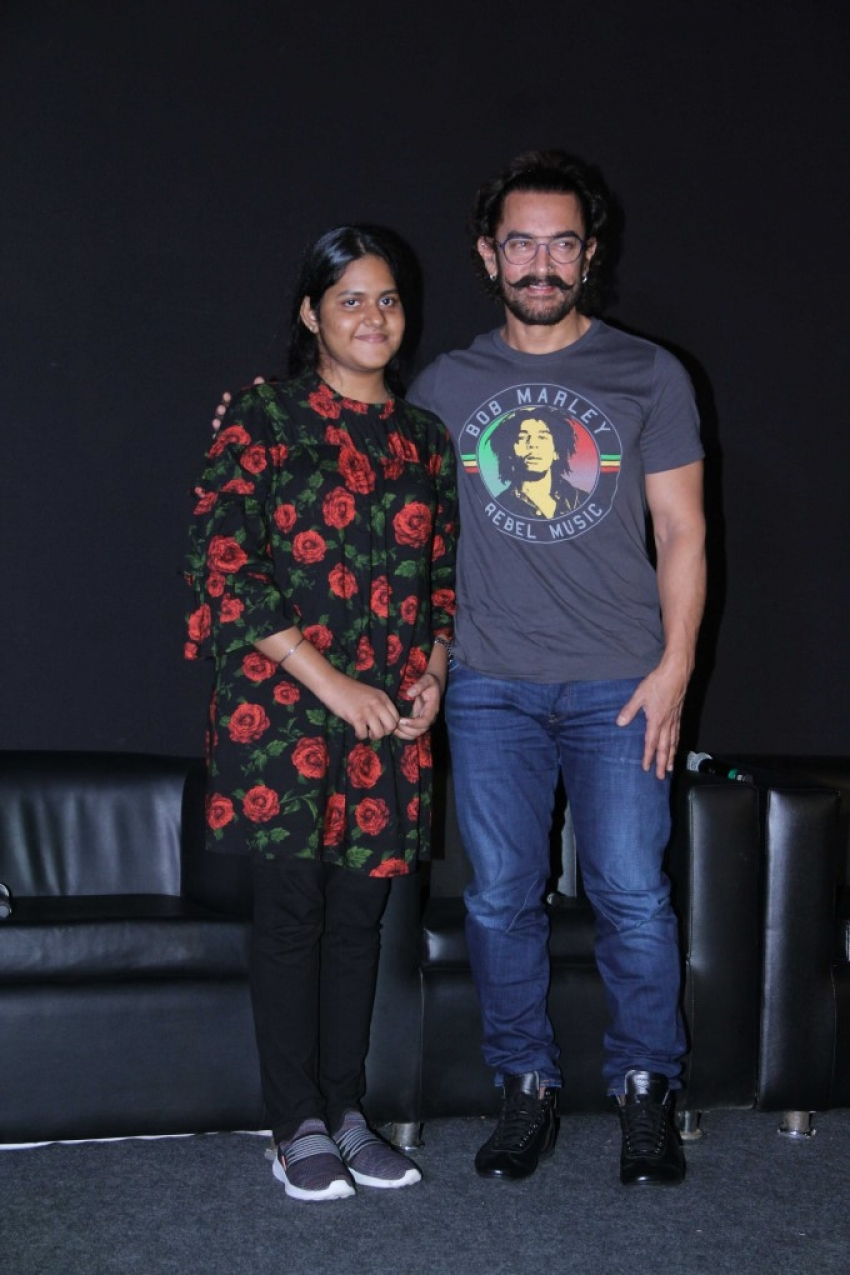 Secret Superstar Song Launch Photos