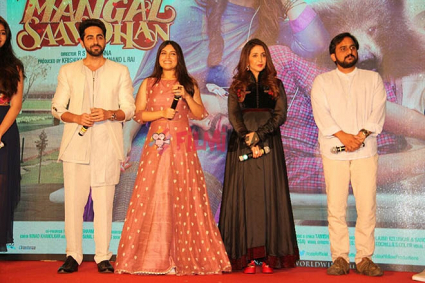 Shubh Mangal Saavdhan Trailer Launch Photos
