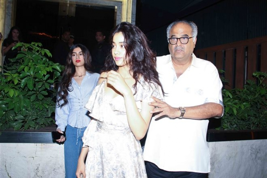 Sridevi Celebrate Her Birthday With Family At Earth Photos