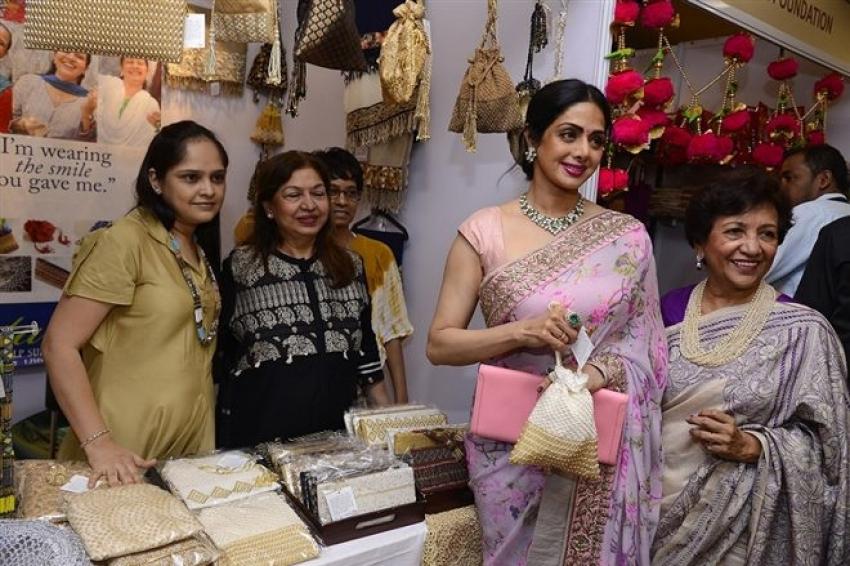Sridevi, Kanika Kapoor & Smt Kokilaben Ambani At The Inauguration Of IMC Ladies Photos