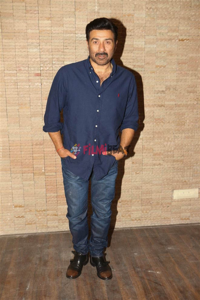 Sunny Deol And Bobby Deol Promote Poster Boys At Classic Raheja Photos