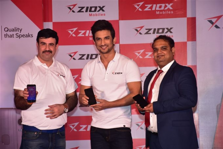 Sushant Singh Rajput At Ziox Mobile Launch
