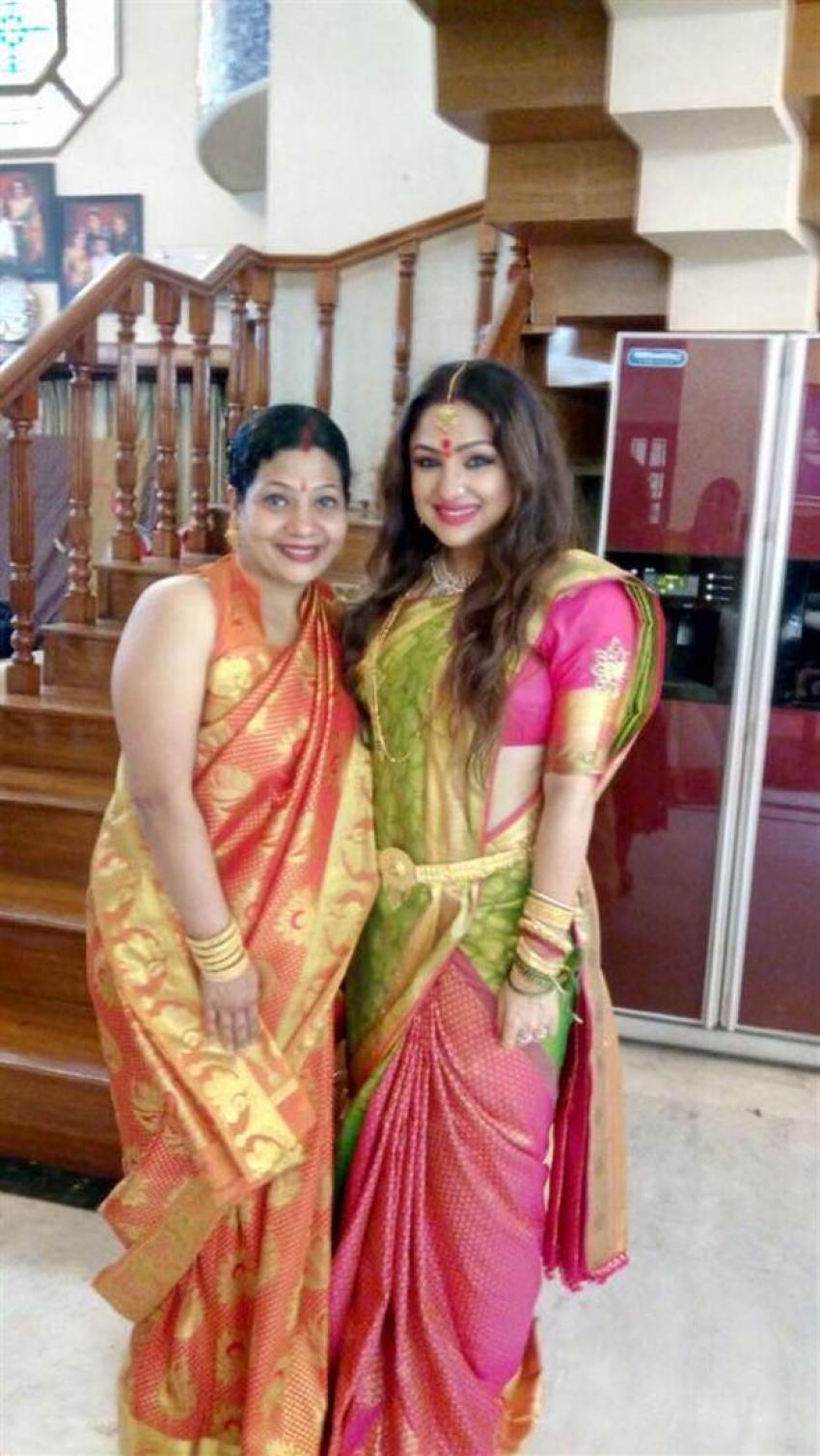 Varamahalakshmi Festival Celebration In Actress Priyanka Upendra House Photos