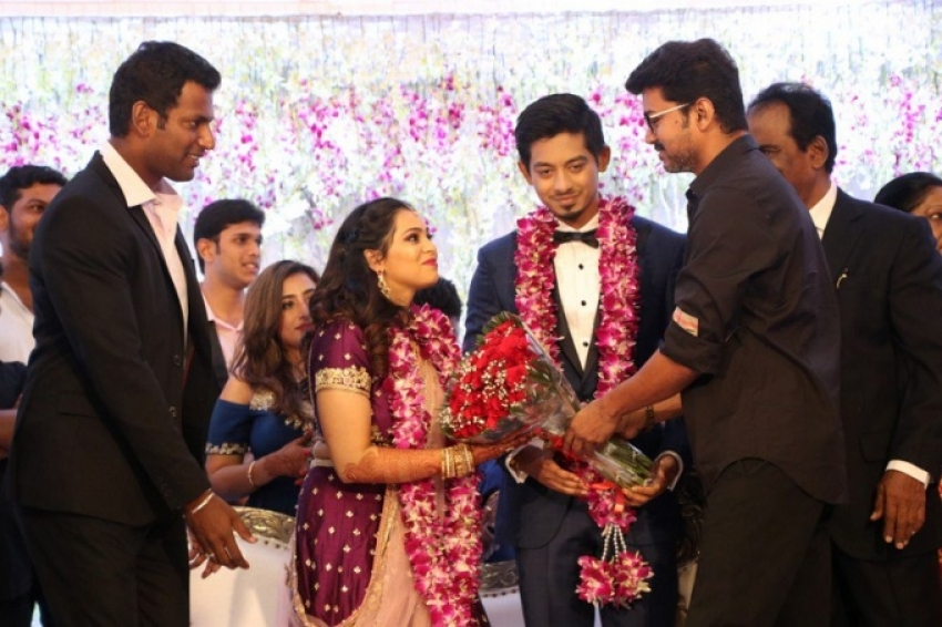 Vishal's Sister Wedding Reception Photos