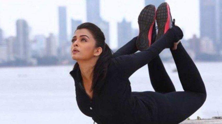 Celebs while doing Yoga Unseen Photos