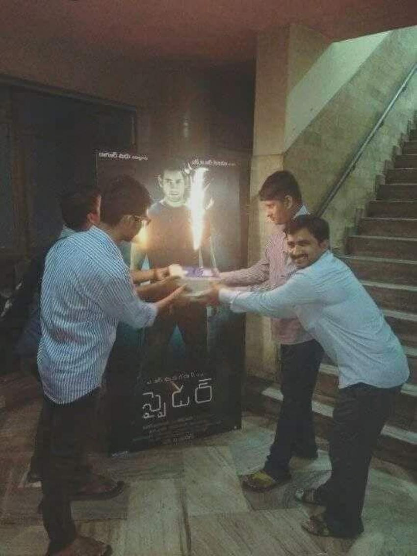 Fans Celebrates Grand Release Of Spyder Photos