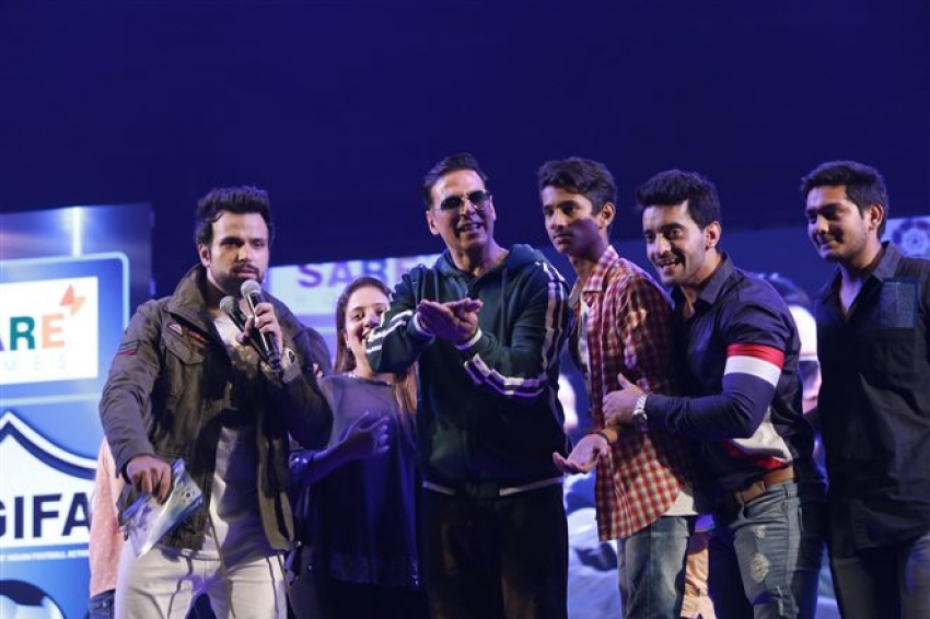 Akshay Kumar At HT GIFA Event In New Delhi Photos